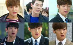 The men of 상속자들!!! ♥