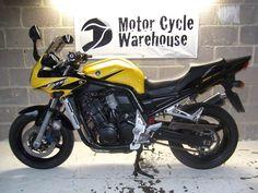 Yamaha Fazer 1000 Yellow