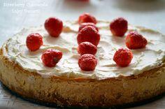 Strawberry Cheesecake Strawberry Cheesecake, Cheesecakes, Baking, Desserts, Food, Tailgate Desserts, Deserts, Bakken, Essen