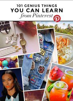 101 incredible things you can learn on Pinterest -- http://stylecaster.com/101-life-changing-things-to-learn-from-pinterest.