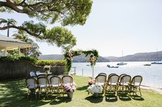 The Boathouse Ceremony Styling Package http://www.theboathousesb.com.au/#events Photography by Sophie Thompson