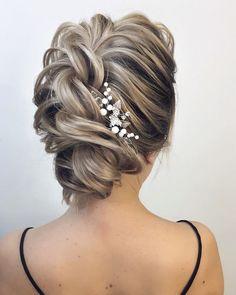 chic updo wedding hairstylesupdo hairstylesmessy updos #weddinghair #wedding #hairstyles #updowedding #weddinghairstyles