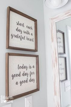 Home Decor For Small Spaces Modern Farmhouse Bathroom Makeover Reveal.Home Decor For Small Spaces Modern Farmhouse Bathroom Makeover Reveal Wc Decoration, Wall Decorations, Modern Farmhouse Bathroom, Farmhouse Artwork, Farmhouse Office, Farmhouse Windows, Modern Farmhouse Style, Farmhouse Style Decorating, Home And Deco