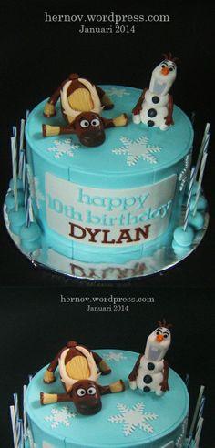 Dylan's SVEN & OLAF (FROZEN) Birthday Cake
