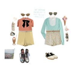 """""""Andie and Euginie"""" by babyfawn on Polyvore"""
