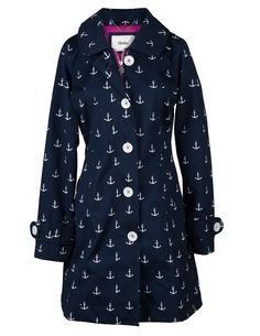 Anchor Rain Jacket from Hatley. I would NEVER spend this much on a raincoat. But it's just so pretty, I could only hope I'd get some crazy discount haha