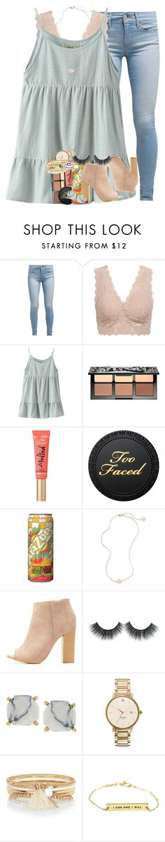 """""""oops"""" by ellaswiftie13 ❤ liked on Polyvore featuring Levi's, Chicnova Fashion, Sephora Collection, MANGO, Kendra Scott, Bamboo, Vince Camuto, Kate Spade, River Island and Avery"""