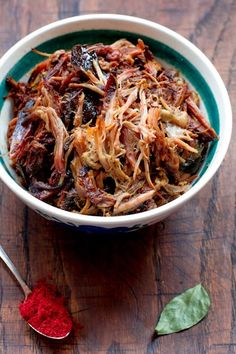 Tandoori masala pulled pork #gryz #MagazynGRYZ