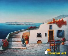 terraza al mar