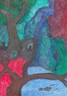 Original Nature Drawing by Color Calor Watercolor Pencils, Watercolor Art, Nature Drawing, Pencil Drawings, Buy Art, Paper Art, Saatchi Art, Original Art, The Originals