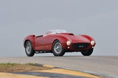 """""""This 375 is simply an incredible racing car linked to the beginning of the Ferrari mystique."""""""