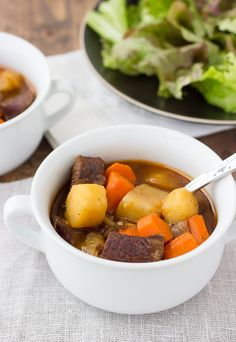 This stew! Oh, this stew! Slow-cooked beef in a flavorful, velvety sauce has got to be one of the most comforting foods around. Add in a mix of hearty root vegetables, that get infused with flavor and become melt-in-your-mouth tender, and you have...