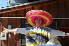 Gary Watrous in his Mexican Attire! #AmericanHatMakers