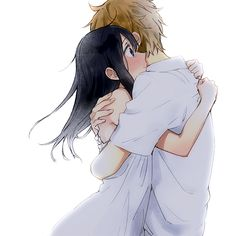 Image discovered by Find images and videos about couple, anime and kawaii on We Heart It - the app to get lost in what you love. Anime Love Story, Tamako Love Story, Manga Love, Anime Chibi, Anime Kawaii, Anime Couples Hugging, Cute Anime Couples, Couple Manga, Anime Love Couple