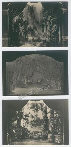 Parsifal 1927 - Photo postcards