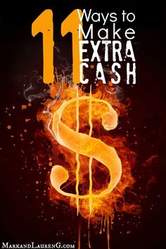 Are you looking to make some extra cash fast?  Here are 11 surprising money making ideas that will help you make some cash right now!