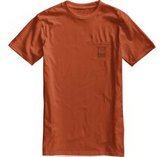 Burton Rockford short sleeve slim fit t-shirt Rustbucket