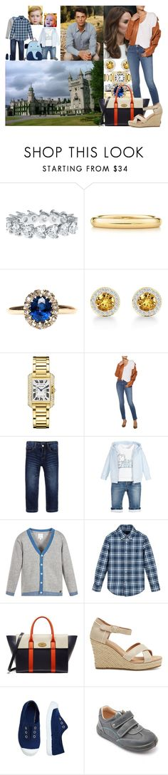 """""""Traveling to Balmoral for the remainder of the summer holiday"""" by lady-maud ❤ liked on Polyvore featuring Elsa Peretti, Cartier, Masquerade, J Brand, Mulberry and TOMS"""