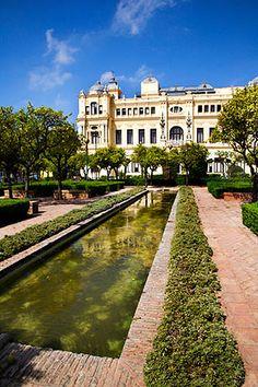 Jardines Alcalde Pedro Ruiz Alonso, Malaga.