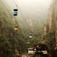 Long Qing Xia Canyon @ China vía @sucede