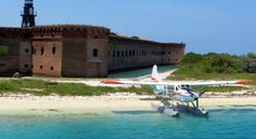 3. Seaplane at Fort Jefferson, Dry Tortugas National Park