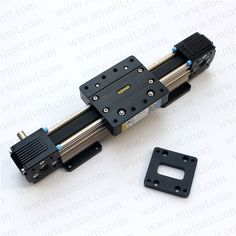 133.00$  Buy here - http://aliao7.worldwells.pw/go.php?t=2037551136 - ball linear rail   guide roller shaft  guideway toothed belt driven 133.00$
