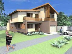 Proiect casa moderna. Casa moderna arad, casa bucuresti moderna, proiect casa moderna. - YouTube