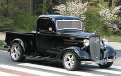 hot rod chevy trucks