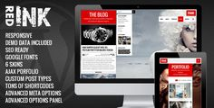 Review RedInk - Creative WordPress ThemeIn our offer link above you will see