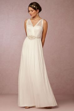 BHLDN Avril Gown in  Sale Wedding Dresses at BHLDN