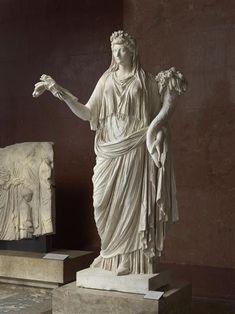 Livie en Cérès, Musée du Louvre, Ier siècle ap. JC