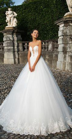 Milla Nova Bridal 2017 Wedding Dresses renata / http://www.deerpearlflowers.com/milla-nova-2017-wedding-dresses/20/