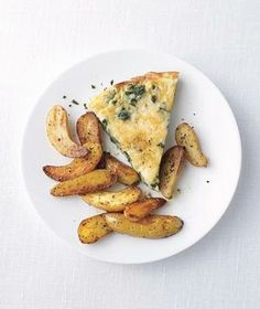 Vegetarian: Kale and Manchego Frittata With Roasted Potatoes