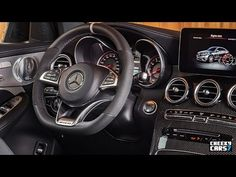 New Car 2017: NEW 2018 Mercedes-AMG GLC Coupe 63 S INTERIOR / Te...