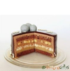 Tort Entremet cu banane si ciocolata 5
