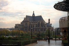 Saint Eustache Church - Paris. This is the one you see when you visit Les Halles and wonder why you've never heard of it.