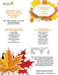 October 2014 Customer Promotion!