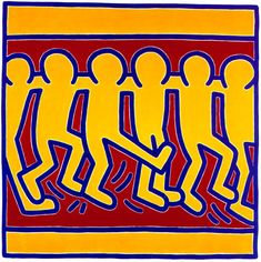 Untitled By Keith Haring: Category: Art Currency: GBP Price: Retail Price: Pop Art Graffiti Modern Pop Art, Contemporary Art, Matisse, K Haring, Monet, Keith Allen, Keith Haring Art, Basquiat, Art Walk