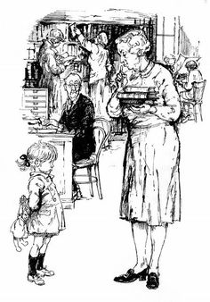 Shirley Hughes, Silence In The Library, The Art Of Storytelling, Best Children Books, Best Mysteries, Cool Art Projects, Artists For Kids, Vintage School, Black And White Drawing