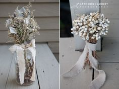 Vintage Bouquet, DIY Bride, Flowergirl bouquet, Rustic Wedding