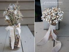 Vintage Bouquet, DIY Bride, Flowergirl bouquet, Rustic Wedding