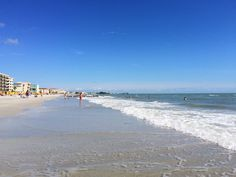 Beach day at Madeira Beach
