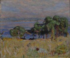 Pierre Bonnard (1867-1947) - La baia di Saint-Tropez - 1914 - Arp Museum Rolandseck Bahnhof (Germania), collezione Rau per l'UNICEF
