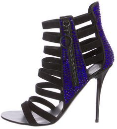 Giuseppe Zanotti Embellished Cage Sandals
