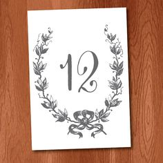 Instant Download DIY Printable Calligraphy by VeronicaFoleyDesign