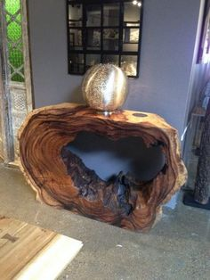 amazing resin wood table ideas for your home furnitures hoomdesign Live Edge Furniture, Wooden Furniture, Tree Stump Furniture, Natural Wood Furniture, Handmade Furniture, Cheap Furniture, Natural Wood Crafts, Natural Wood Table, Modular Furniture