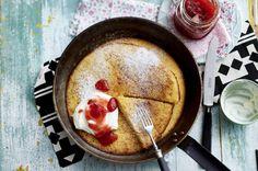 Unser beliebtes Rezept für Pannukakku - Ofenpfannkuchen und mehr als 55.000 weitere kostenlose Rezepte auf LECKER.de.