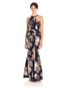 c3da84d17ca New Xscape Women s Long Floral Brocade Dress online. Perfect on the Jill  Jill Stuart Dresses from top store.