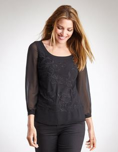 For church or the occasional evening out. Flattering neckline; not sure about the sleeve length.