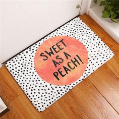 Sweet Peach Floor Mats